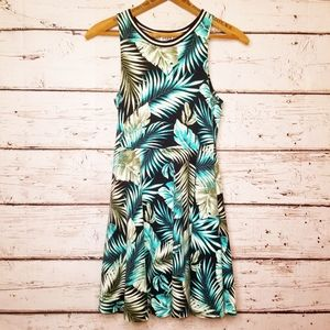 VS PINK Palm Leaf Dress XS